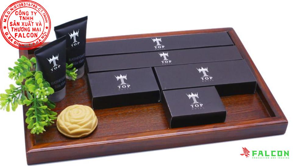 Sản xuất và cung cấp các sản phẩm đồ dùng phòng tắm in logo khách sạn