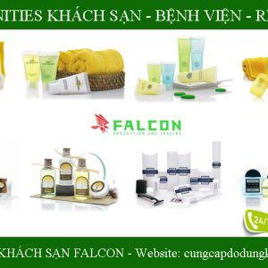Bộ sản phẩm đồ dùng Amenities khách sạn, vật tư khách sạn cao cấp