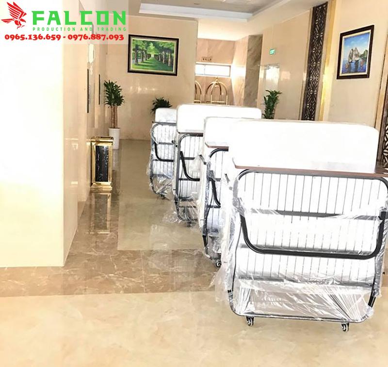 Giường phụ đặt trong khách sạn