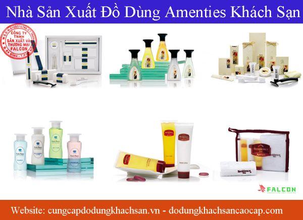 bộ sản phẩm đồ dùng amenities cho khách sạn cao cấp